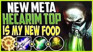 NEW META HECARIM TOP LANE IS MY NEW FAVORITE FOOD! META = LOVE! TOP Urgot vs Hecarim S9 Gameplay