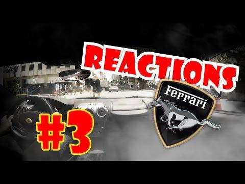 Како реагираат луѓето на улица кога возиш Ферари?