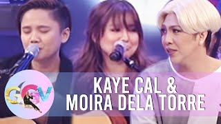 GGV: Impromptu 'hugot' songs with Kaye Cal and Moira dela Torre