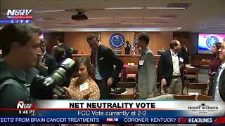 BREAKING: Bomb Threat During FCC Net Neutrality Vote (FNN)