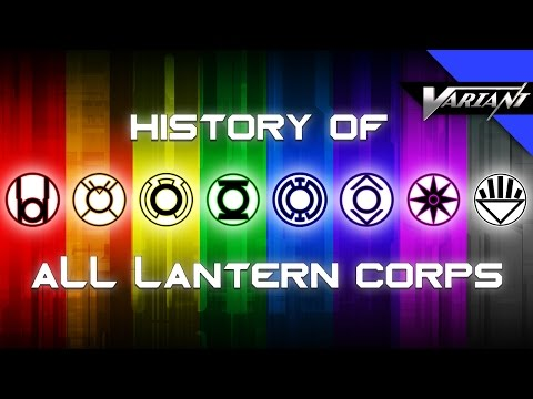 Baixar History Of All The Lantern Corps!