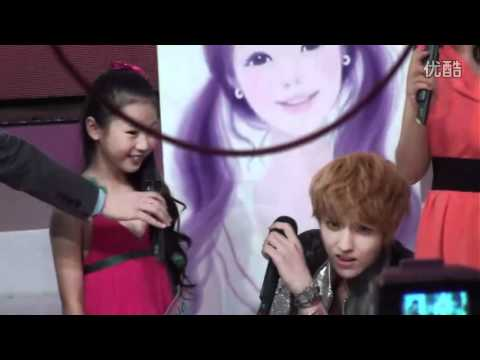 [fancam] 120627 EXO-M & KIDS at FeiChangBuYiBan
