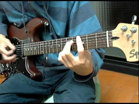 張震嶽 自由 (彈指之間) 電吉他伴奏cover