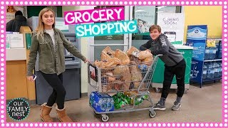 KIDS DO ALL THE GROCERY SHOPPING!