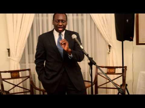 A Night of Hope, Keynote Speaker, Victor Bolden