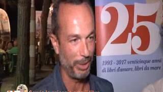 Cervia la spiaggia ama il libro 2017, Cleto La Triplice 19 07 2017 Salotto Ironman Di-tv