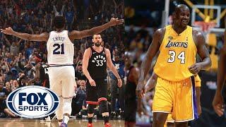 Chris Broussard and Jason McIntyre on KD, Embiid, Lakers offseason | KNOCKDOWN J | FOX SPORTS