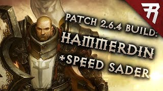 Diablo 3 Season 16 Crusader Hammerdin GR 130+ & speed build guide - Patch 2.6.4