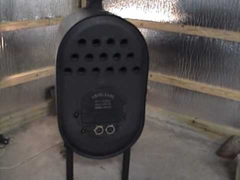 Barrel Stove With Heat Exchanger Youtube