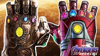 Why The Thanos Gauntlet Is WAY MORE POWERFUL Than The Stark Gauntlet - AVENGERS ENDGAME