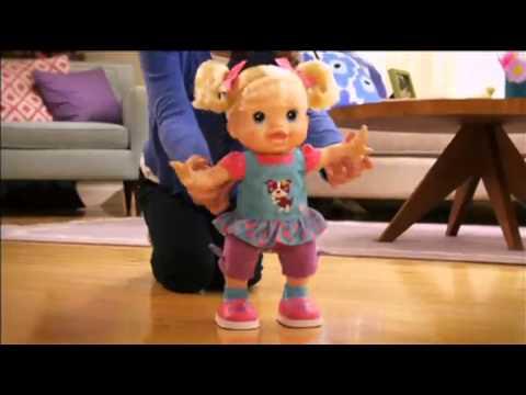 Boneca Baby Alive Aprendendo A Andar Youtube