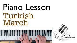 Turkish March (Mozart) - Piano Lesson