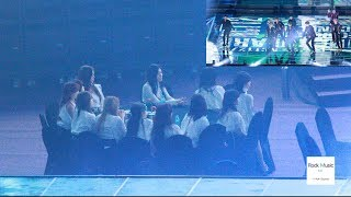 IZ*ONE REACTION TO NCT127 Stage (Simon Says + Regular)[4K]@190115