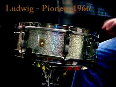 Ludwig Pioneer vintage snare 1966