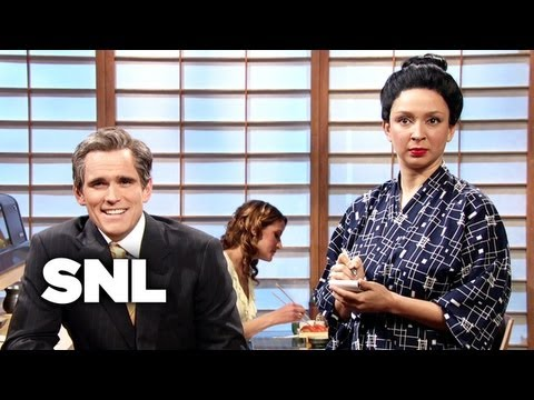 Ordering Sushi Like a CEO - Saturday Night Live