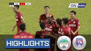 Highlights: Văn Toàn tỏa sáng, HAGL thắng nghẹt thở trước Than Quảng Ninh