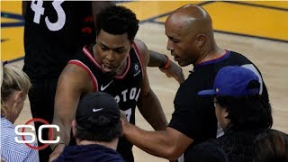 Warriors investor who pushed Kyle Lowry banned 1 year, fined $500,000 | SportsCenter