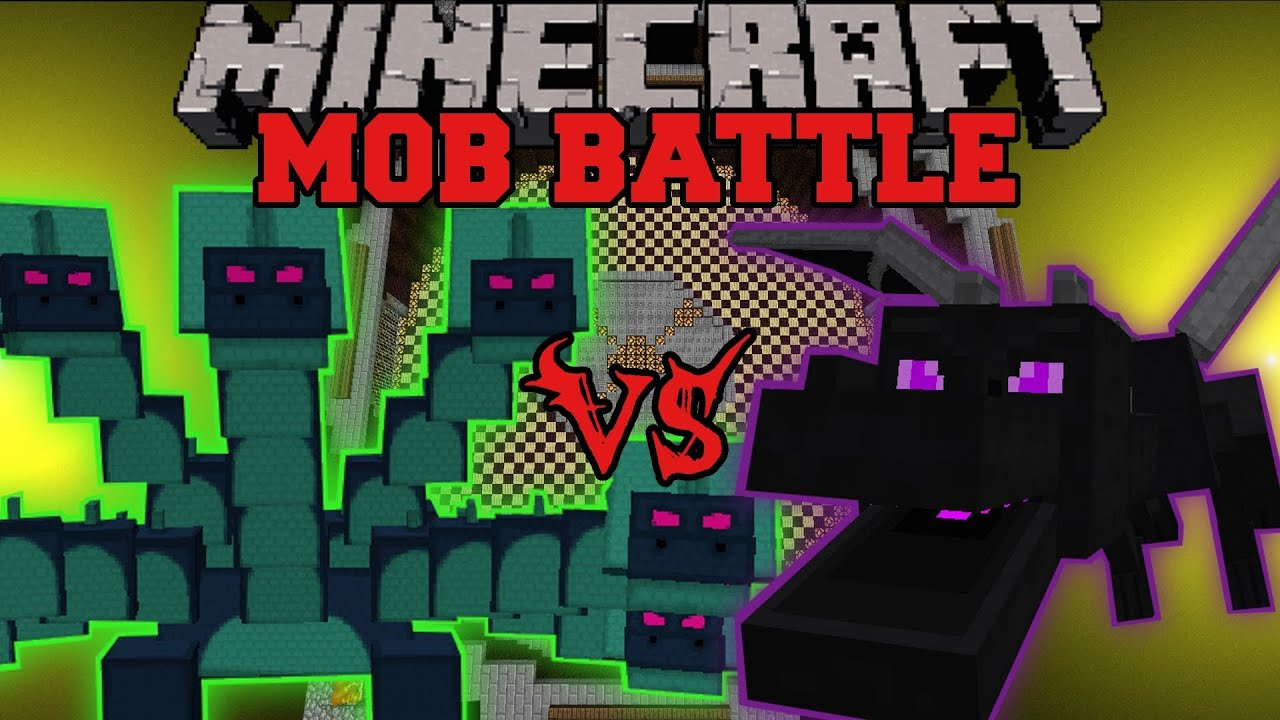 Ender Dragon Vs Hydra Minecraft Mob Battles Arena