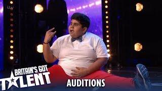 Akshat Singh: Incredible Fun Indian Dance Kid Gets The GOLDEN BUZZER!😲 Britain's Got Talent 2019