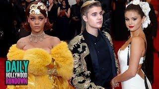 WTF Met Gala Fashion & Drama - Justin Bieber Sends Flirty Message To Selena (DHR)