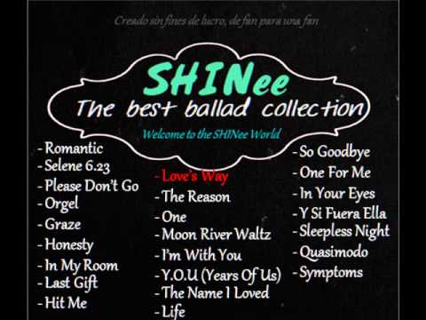 SHINee - The Best Ballad Collection