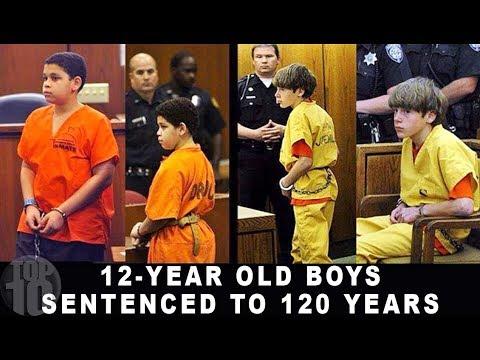 10 KIDS SERVING LIFE IN PRISON | Compilation