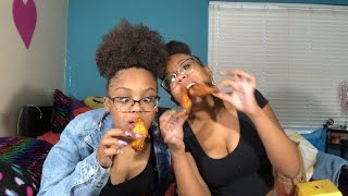 EXTREME HOT WINGS CHALLENGE 🤒🍗