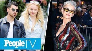 Joe Jonas & Sophie Turner's Engagement: Best Reactions, Katy Perry Talks Being Single | PeopleTV