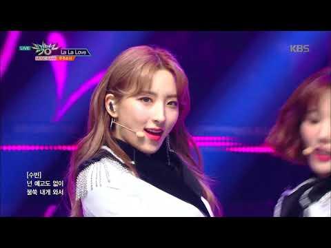 뮤직뱅크 Music Bank - 라라러브(La La Love) - 우주소녀(WJSN).20190125