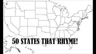 50 States that Rhyme
