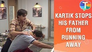 Kartik stops his father from running away from the hospital | Yeh Rishta Kya Kehlata Hai