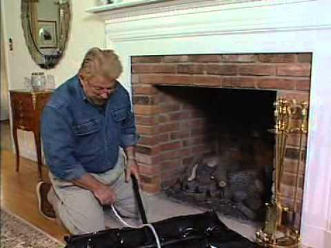 Battic Door Fireplace Plug Chimney Balloon Youtube