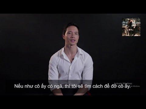 Phỏng vấn Kim Lý về tình yêu dành cho Hồ Ngọc Hà :