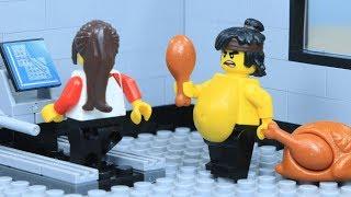 Lego Ninjago: Fat Ninja Gym Fail