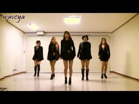 Waveya T-ara (티아라) Cry Cry (웨이브야) korean dance group