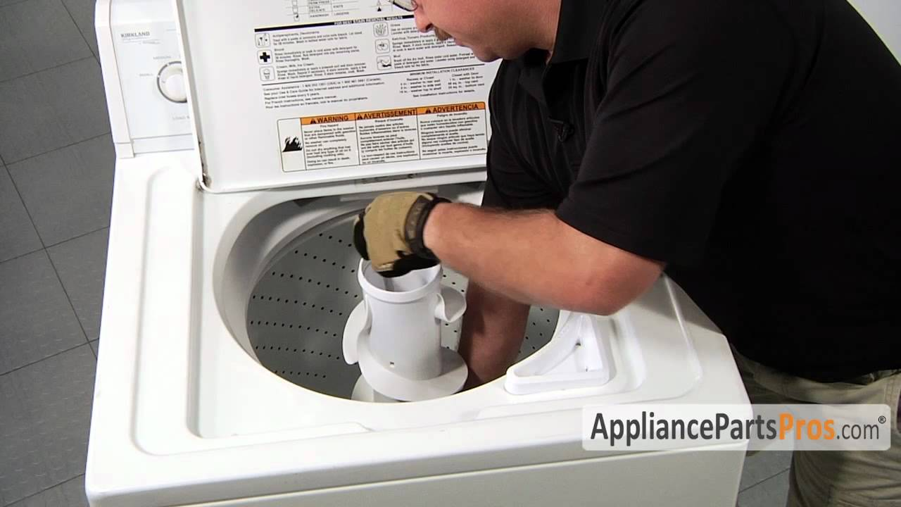 Washer Agitator Base Part 3347288 How To Replace