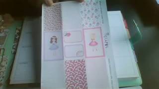 Plan with me in my mini happy planner January 21st: Matildas Crafts.