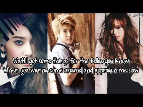 Jessica & Krystal & Kris - Say Yes + [English lyrics]