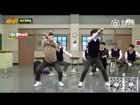 Heechul ver. 'New Face' Dance (feat. PSY) @Knowing Bros