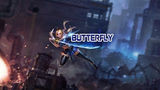 Hướng dẫn chơi Tướng Butterfly - Sát Thủ Siêu Cấp - Liên Quân Mobile - Strike of Kings