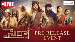 Sye Raa Narasimha Reddy Pre Release Event LIVE- Chiranjeev..