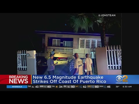 Another Earthquake Rocks Puerto Rico