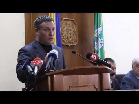 Виступ позафракційного депутата Назара Горука на сесії облради