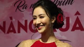 Sau tin đồn ở ẩn lấy chồng, hoa hậu Hà Thu trở lại làm ca sĩ, bị Thanh Thức hôn hụt ở họp báo