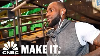 LeBron James Admits To Being The Cheapest Player In The NBA   CNBC Make It.