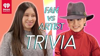 Sofia Carson Goes Head to Head With Her Biggest Fan! | Fan Vs Artist Trivia