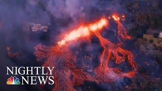 Hawaii Volcano Erupts, Launching Ash And Smoke 30,000 Feet High | NBC Nightly News