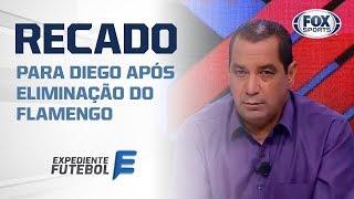 ZINHO MANDA 'RECADO' PARA DIEGO APÓS ELIMINAÇÃO DO FLAMENGO