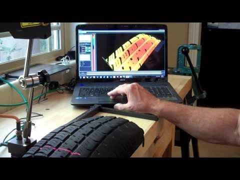 AP820-240 Tire Tread Scan