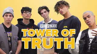 'PRETTYMUCH' Reveal Their Secrets In The Tower Of Truth | PopBuzz Meets